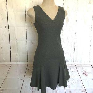 DVF Diane von Furstenburg Womens Dress Size 6 Gray